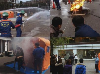 消防・防災訓練機器の販売